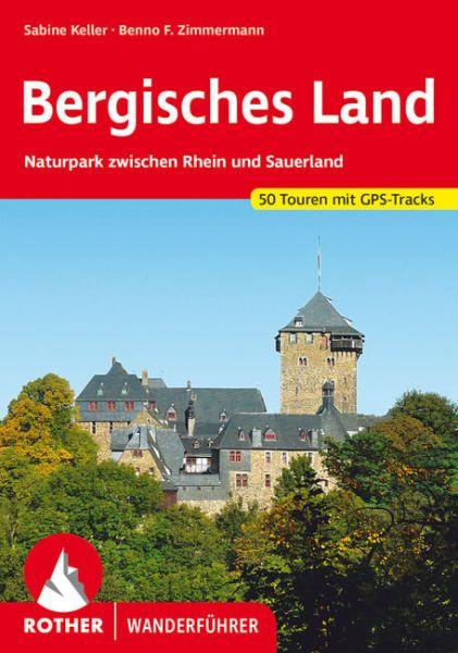 Bergisches Land Wanderführer, Rother