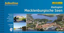 Mecklenburgische Seen, Bikeline Radwanderführer mit Karte, Esterbauer
