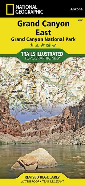 Grand Canyon East (Grand Canyon ) Trail Map (262), NG | Das ... on