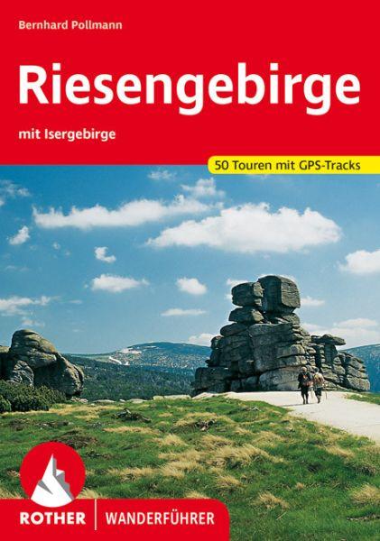 Riesengebirge mit Isergebirge Wanderführer, Rother
