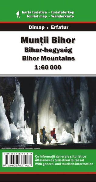 Karpaten Wanderkarte: Muntii Bihor / Bihar-Gebirge 1:60.000
