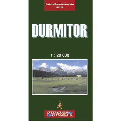 Durmitor Wanderkarte 1:22.000; Intersistem Kartografija