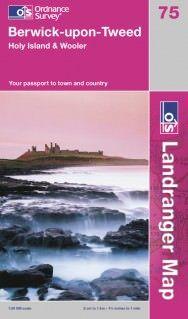 Landranger 75 Berwick-upon-Tweed, Großbritannien Wanderkarte 1:50.000