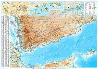 GIZI Länderkarte Jemen, Posterkarte 125 cm x 88 cm