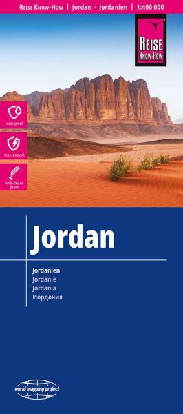 Jordanien Landkarte 1:400.000, Reise Know-How