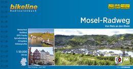Mosel-Radweg, Bikeline Radwanderführer mit Karte, Esterbauer