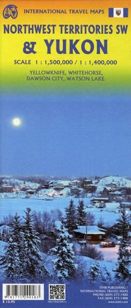 Yukon Landkarte 1:1.400.000, ITM