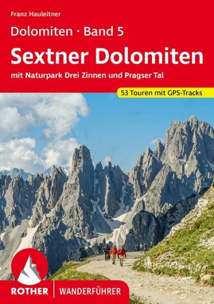 Dolomiten 5 - Sexten - Toblach - Prags Wanderführer, Rother