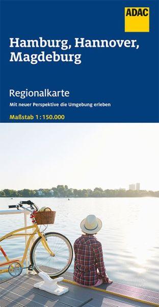 Bl. 5 Hamburg, Hannover, Magdeburg Regionalkarte 1:150.000, ADAC Straßenkarte