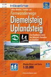 Diemelsteig - Uplandsteig, Hikeline Wanderführer mit Karte