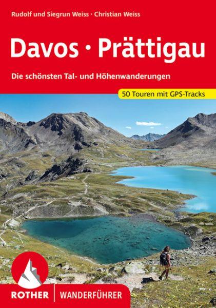 Davos - Prättigau Wanderführer, Rother