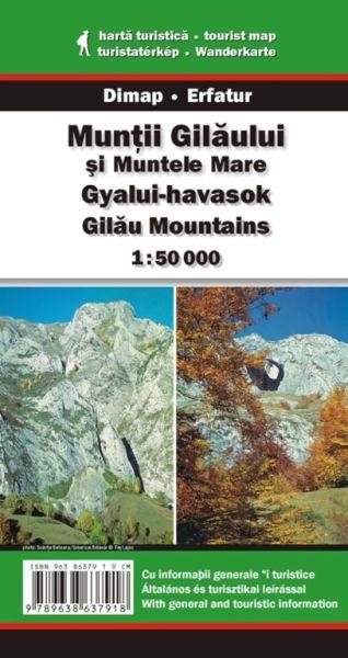 Karpaten Wanderkarte: Muntii Gilaului / Gilau-Gebirge