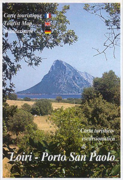 Sardinien Wanderkarte: Edizioni Abies: Loiri - Porto San Paolo 1:25.000