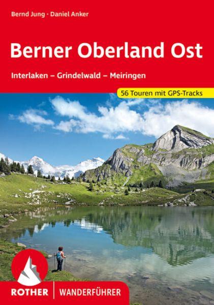 Berner Oberland Ost Wanderführer, Rother