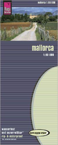 Mallorca, Landkarte 1:80.000, Reise Know-How