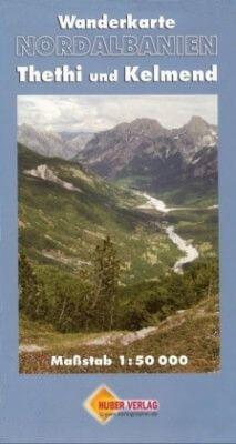 Albanien Wanderkarte: Thethi und Kelmend (Nordalbanien) 1:50.000