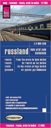 Russland Vom Ural Zum Baikalsee Strassenkarte