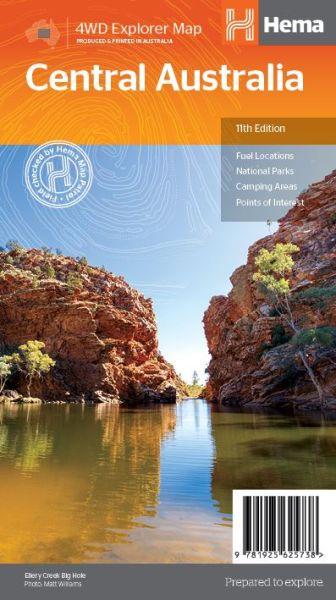 HEMA Regionalkarte Central Australia 1:2.000.000