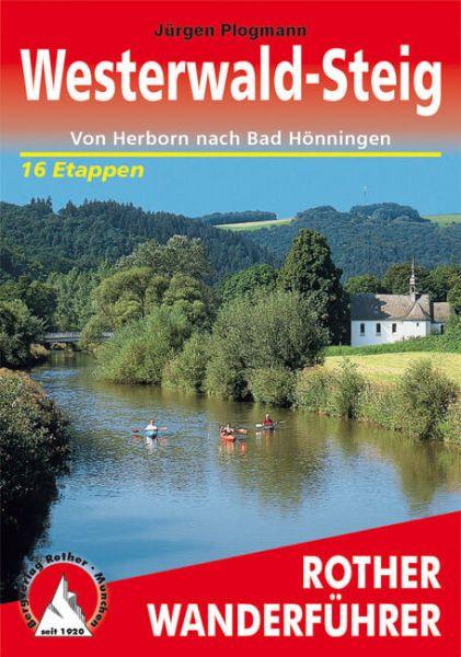 Westerwald-Steig Wanderführer, Rother