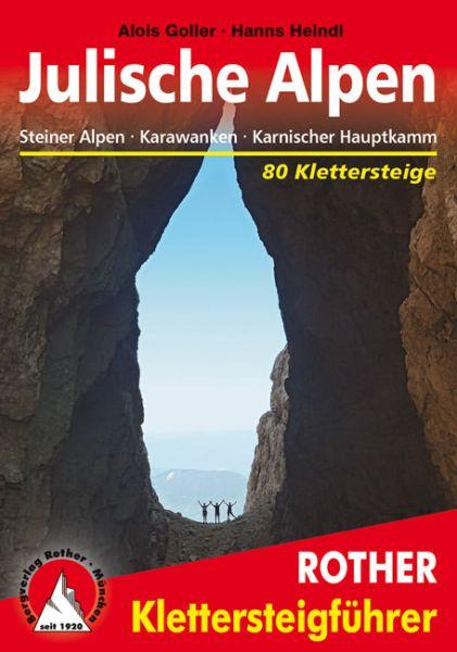 Julische Alpen Klettersteigführer - Rother Wanderführer