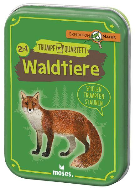 Trumpf Quartett Waldtiere, Moses Verlag