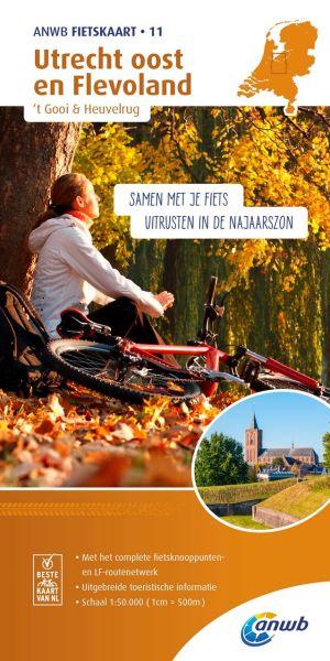 ANWB Fietskaart 11: Utrecht Ost, Radwanderkarte 1:50.000
