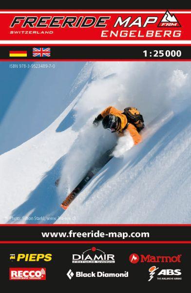Freeride Map Engelberg, Skitourenkarte 1:25.000