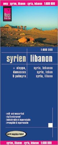 Syrien, Libanon Landkarte 1:600.000, Reise Know-How