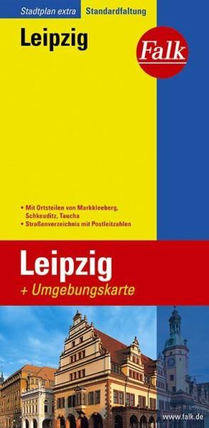 Falk Stadtplan extra Leipzig