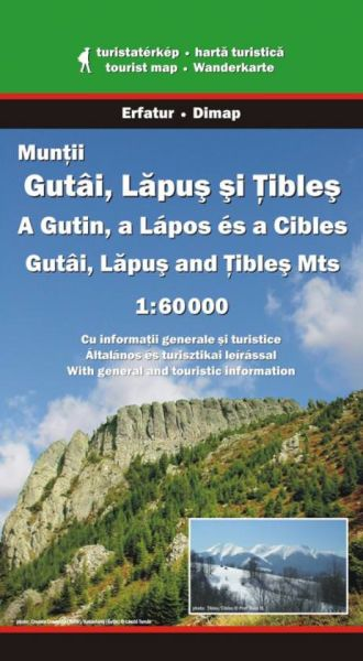 Karpaten Wanderkarte: Muntii Gutai, Lapus si Tibles Dimap