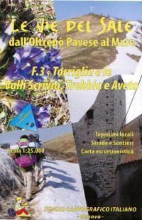 Wanderkarte für Torriglia & le Valli Scrivia, Trebbia & Aveto in Ligurien Bl. 3