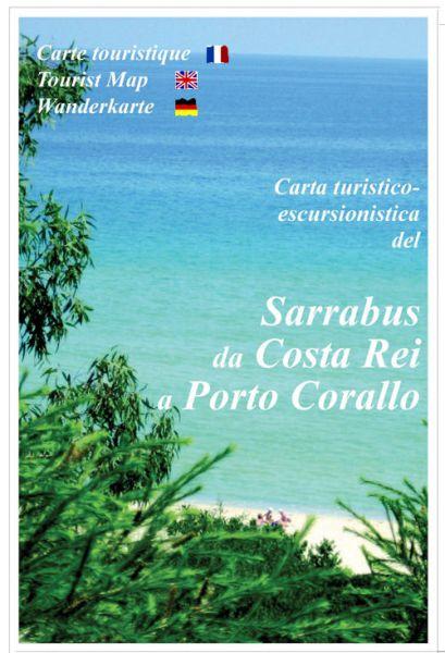 Sardinien Wanderkarte: Sarrabus da Costa Rei a Porto Corallo 1:30.000