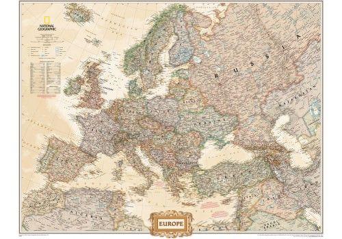 NGS Poster Europa Antik Executive 117x91cm