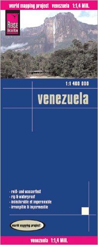 Venezuela Landkarte 1:1.400.000, Reise Know-How