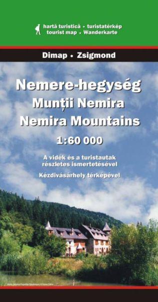 Karpaten Wanderkarte: Muntii Nemira / Nemira-Gebirge, Dimap