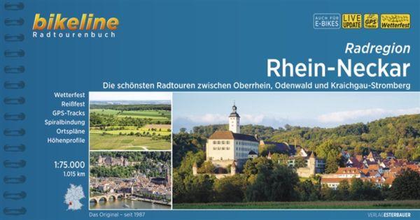 Rhein-Neckar, Bikeline Radwanderführer mit Karte, Esterbauer