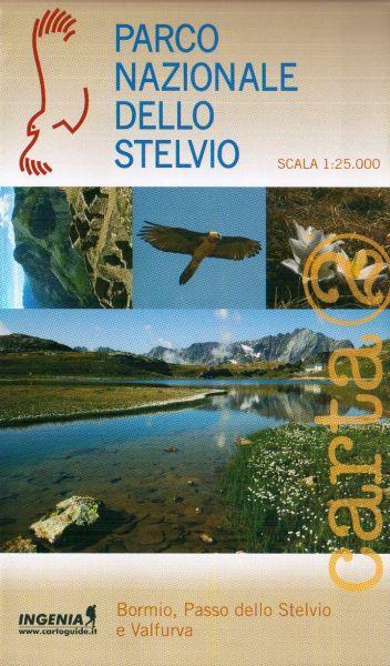 Wanderkarte Nr.2 für Bormio, Stelvio Pass im Parco Nazionale dello Stelvio im Maßstab 1:25.000