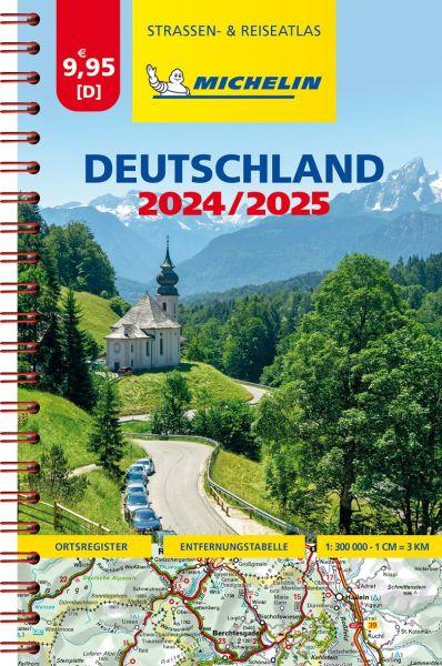 Deutschland Kompaktatlas, 1:300.000, Michelin
