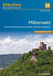 Pfälzerwald Wanderführer mit Karten von Hikeline