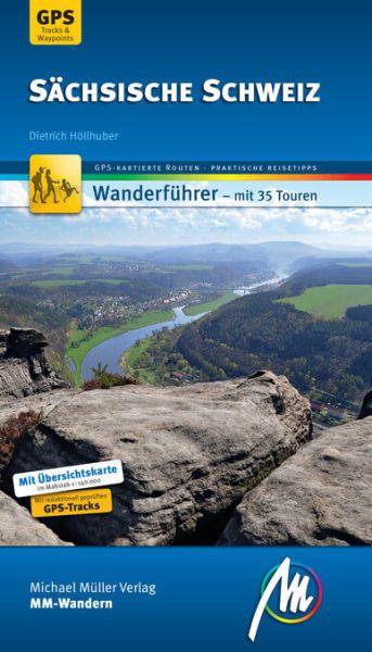Sächsische Schweiz Wanderführer, MM-Wandern, Michael Müller Verlag