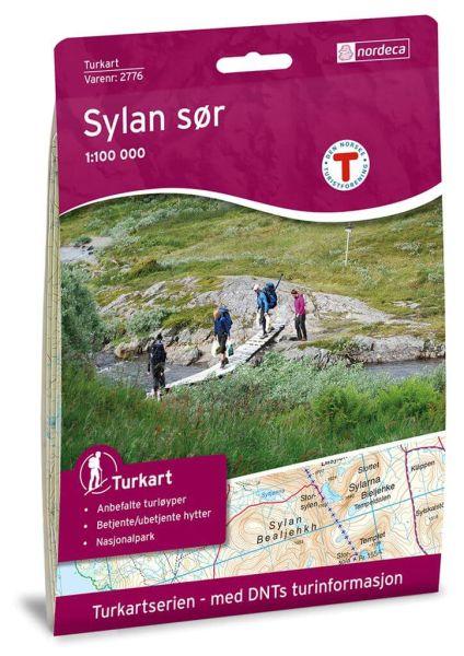 Sylan Süd Wanderkarte 1:100.000 – Norwegen, Turkart 2776 von Nordeca
