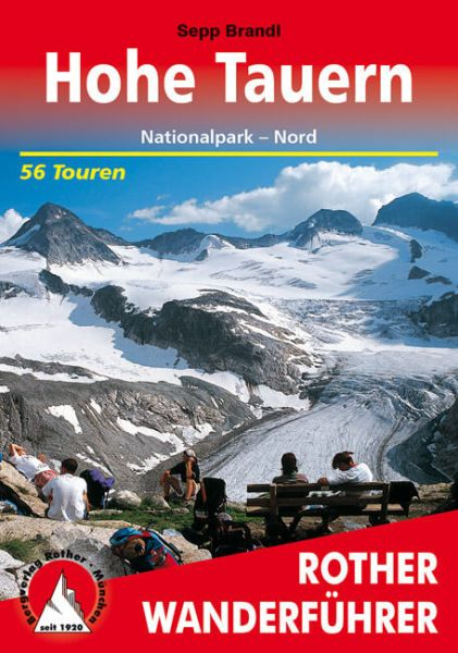 Tauern - Hohe Tauern Nord Wanderführer, Rother