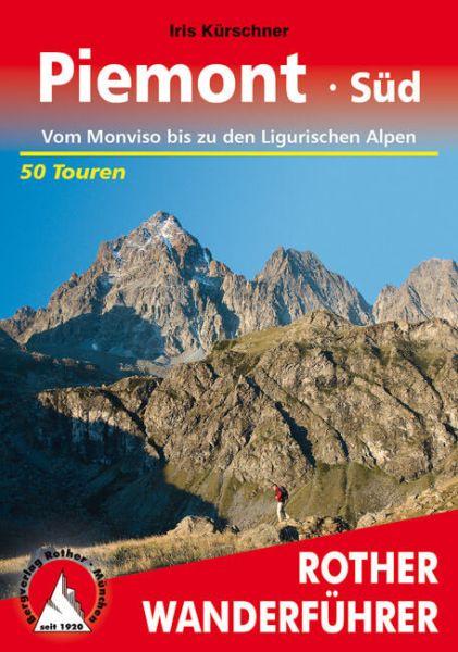Piemont Süd Wanderführer, Rother