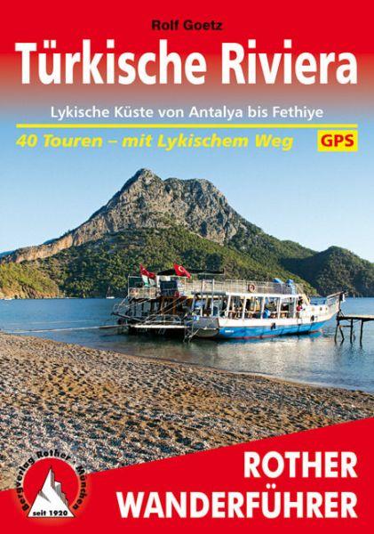Türkische Riviera - Lykien Wanderführer, Rother