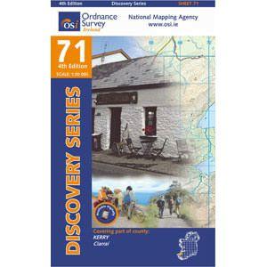 OSI 71 Kerry Wanderkarte 1:50.000 - Ordnance Survey Ireland