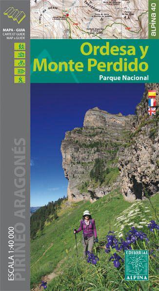 Ordesa y Monte Perdido Wanderkarte 1:40.000 - Editorial Alpina