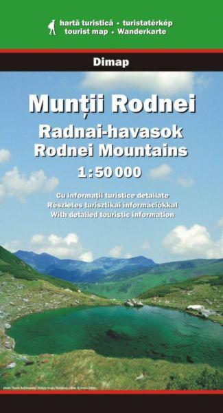 Karpaten Wanderkarte: Muntii Rodnei / Rodna-Gebirge, Dimap