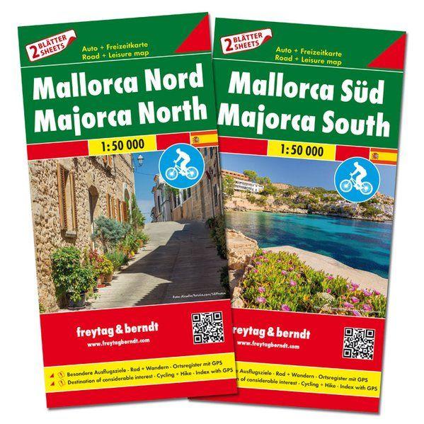 Mallorca Kartenset 1:50.000, Freytag und Berndt