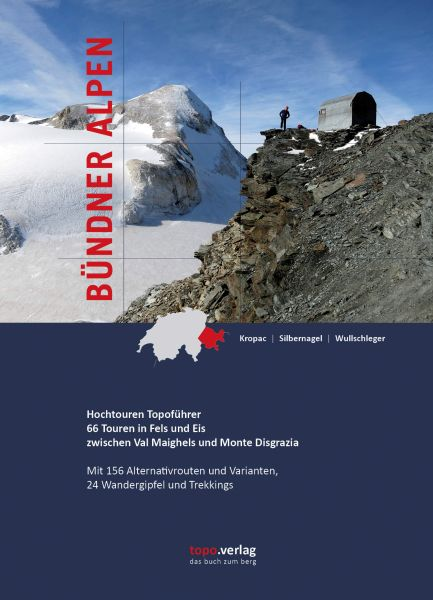 Bündner Alpen Hochtouren Topoführer, Topo Verlag