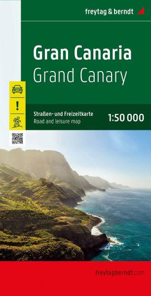 Gran Canaria, Landkarte 1:75.000, Freytag und Berndt